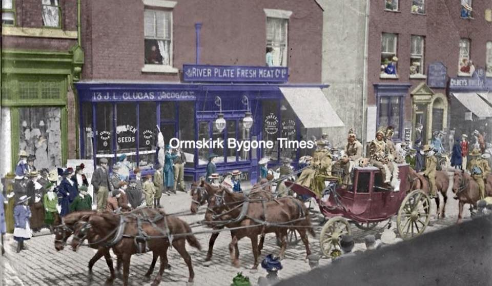 Buffalo Bill come to Ormskirk c 1902