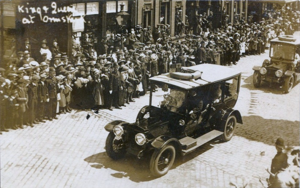 King George V and Queen Mary in Ormskirk