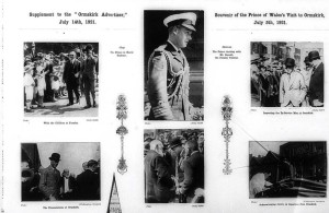 Ormskirk Advertiser Supplement to Commemorate The Visit of The Prince of Wales 1921