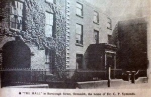 Ormskirk Hall located on Burscough Street Ormskirk