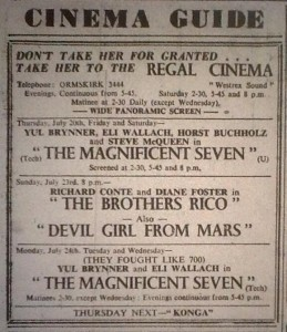 Regal Cinema Advert