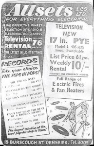 An advert for Allsets