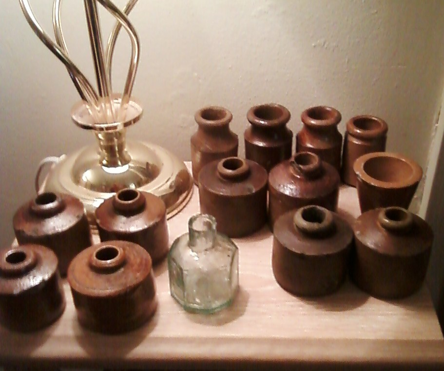 Disposable Inkwells found in the fields around Ormskirk