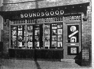 The original Soundsgood store in 1971