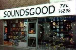 The new Soundsgood store in 1978