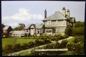 Blairgowrie, the house on Ruff Lane that was owned by Thomas Coulton and would later become the nurses home