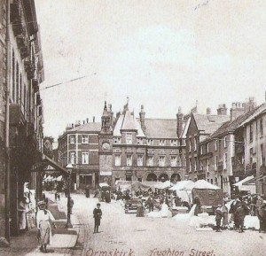 Aughton Street with the Talbot in on the left