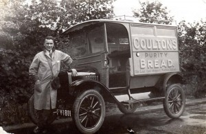 A Coulton's delivery van based at the Southport factory