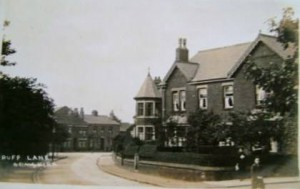 New housing on Ruff Lane. Built as a result of expansion after the introduction of the railway to Ormskirk