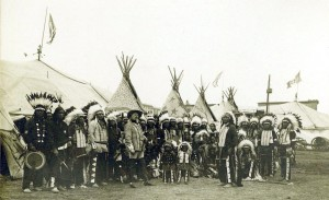 Buffalo Bill with the Oglala Lakota