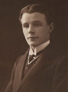 A pre-war portrait of Arthur Fairbrother