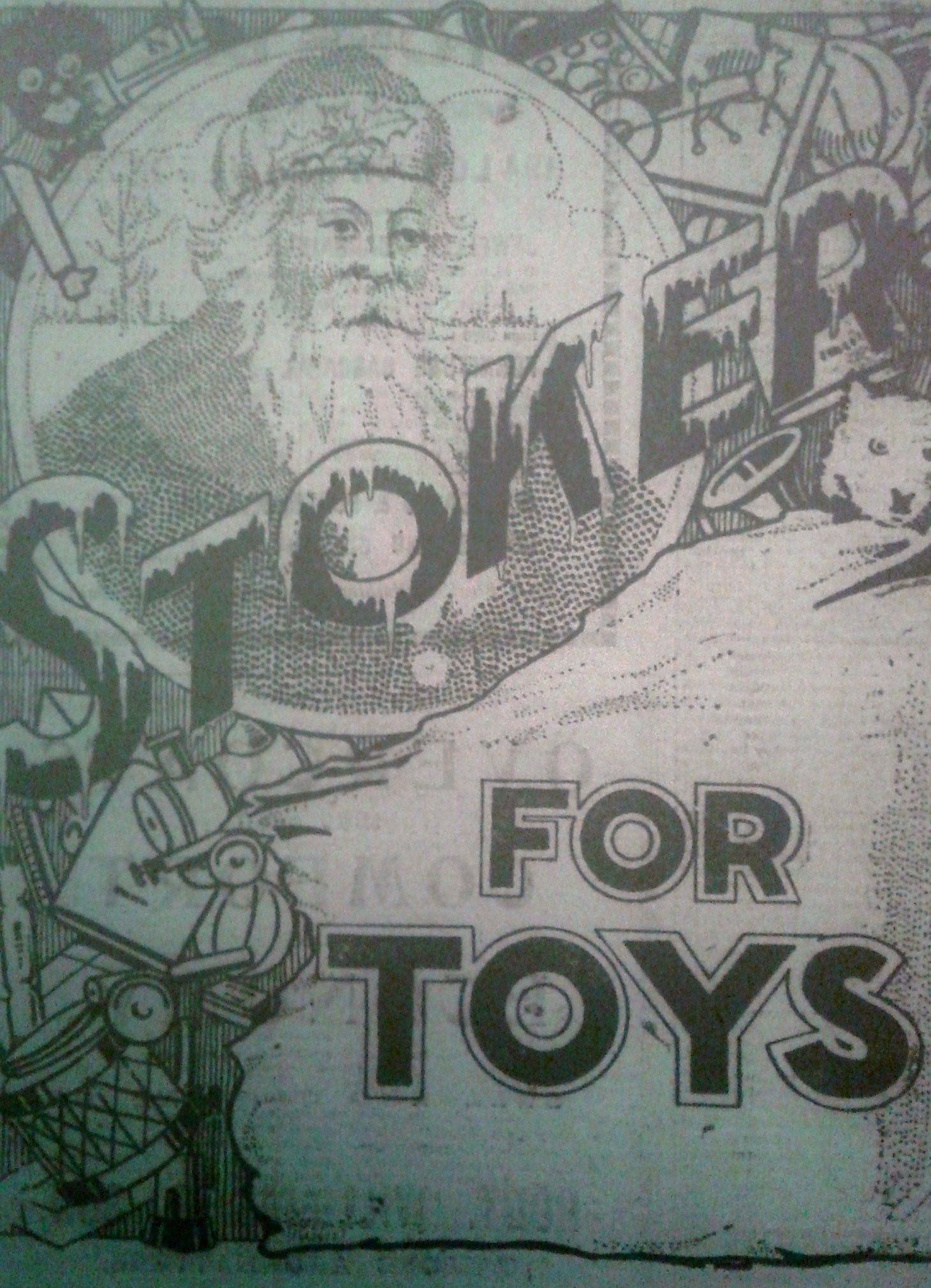 An advert for Stokers Toys