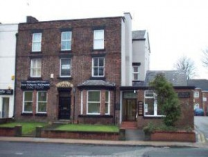 The Mansion House on St Helens Road which is now a dental surgery