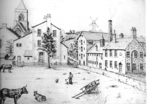 The Brewery at Town End, owned by Edward Sudbury and later his four sons