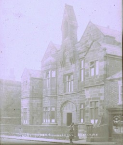 The United Reformed School. From Ormskirk Bygone Times slide collection