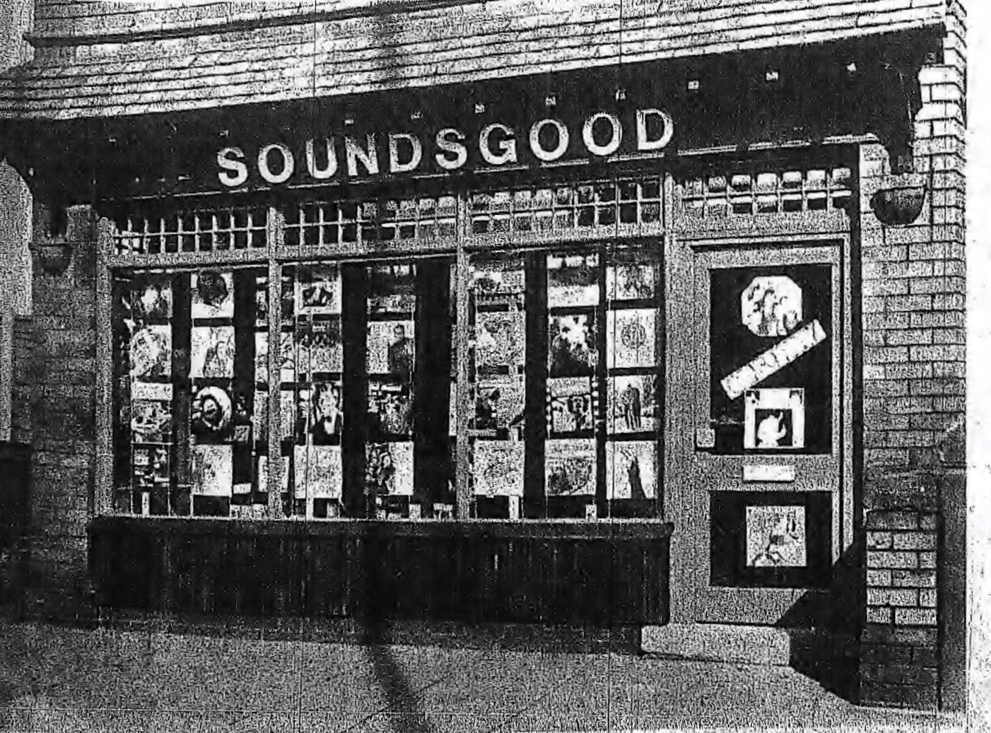 Soundsgood Records opened in 1971 on Derby Street West