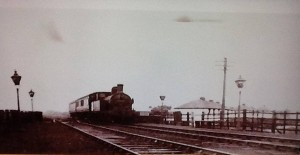 The Skem Jazzer at Westhead Halt in 1951