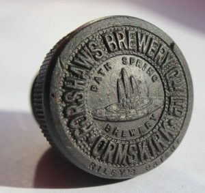A Forshaw's Brewer Stopper. A very rare item indeed.