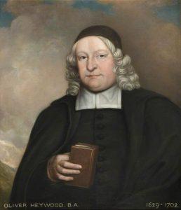 Oliver Heywood, older brother of Nathaniel