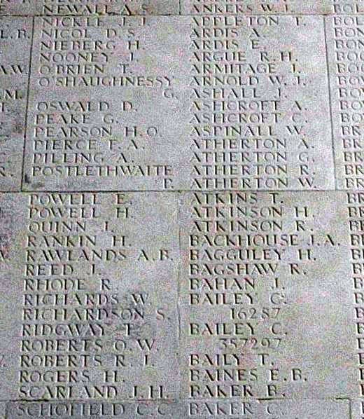 David Oswald On The Thiepval Memorial