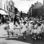Sunday School Infants, Miss Leatherbarrow front left, circa 1965